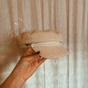 cream fisherman's hat